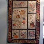 Sylvia's Wall Hanging using Color Wash LeavesView the Collection