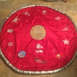 Teresa's Tree Skirt using A Decorative Christmas, All Things Christmas, and Christmas BeautifulView  All Things Christmas Here