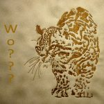 Susan's Golden Cats using Wild Cats In BlackView the Design