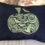 Christine's Pillow Using A Decorative HalloweenView The Collection Here