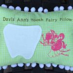Christine's Pillow using House Fairy Silhouettes