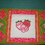 Judy's placemat using Retro FruitView The Design Here