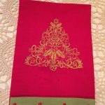 Carol's towel using Festive Fun For ChristmasView The Collection Here