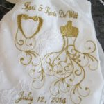 Fran Kolb's wedding bag using Bridal BotiqueView the Collection Here