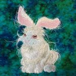Suzanne's EE_Rabbit stitch out using Easer EssentialsView the Collection Here