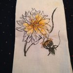 Joanna's towels using Work In Progress FlowersView The Collection Here