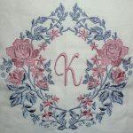 "Karin's pillow using ""Decidedly Decor"