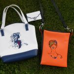 Tine's handbag using  Ladies In LineView the Collection Here