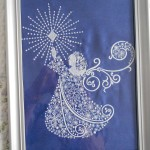 """Marion's framed """"Angel Horn"""" from The Magic Of ChristmasView the Collection Here"""