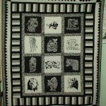 Phil's quilt using Wild Cats In Black and Alphas Of The WildView Wild Cats In BlackView Alphas Of The Wild