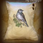 Sarah Jaynes pillows using Birds Of A Feather View The Collection Here