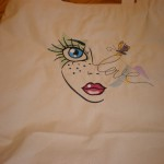 Sandy's Tote using Fun Faces MinisView the Collection