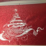 Carmen's Place Mat using Christmas In MotionView the Design