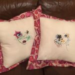 Jane's pillows using Fancy LadiesView The Collection Here