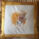 """Marillyn's pillow using Fancy LadiesView The Collection Here"""">View The Collection Here"""