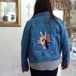 Patriotic  Wearables Grunge jacket by Donna McguireView the Collection