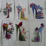Dale's quilt blocks using Shoes Of A FeatherView the Collection