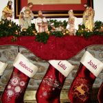 Rebecca's Stockings using A Decorative ChristmasView The Collection Here