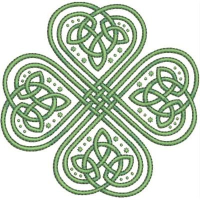 Celtic Shamrock Designs March 12 free celtic shamrock
